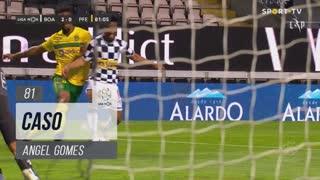 Boavista FC, Caso, Angel Gomes aos 81'