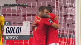 GOLO! SL Benfica, Seferovic aos 80', SL Benfica 2-0 Moreirense FC