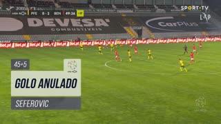 SL Benfica, Golo Anulado, Seferovic aos 45'+5'