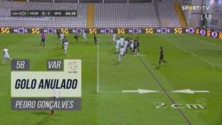 Sporting CP, Golo Anulado, Pedro Gonçalves aos 58'