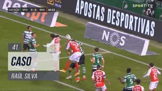 SC Braga, Caso, Raúl Silva aos 41'