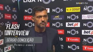 """Sérgio Conceição: """"Se entrasse mais alguém, não ficava nada chateado"""""""