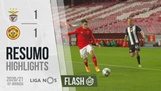 I Liga (15ªJ): Resumo Flash SL Benfica 1-1 CD Nacional