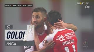 GOLO! SC Braga, Piazon aos 62', SC Braga 1-1 Portimonense