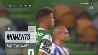 Sporting CP, Jogada, Matheus Nunes aos 8'