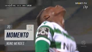 Sporting CP, Jogada, Nuno Mendes aos 70'