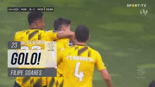 GOLO! Moreirense FC, Filipe Soares aos 23', Marítimo M. 0-1 Moreirense FC