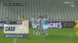 Moreirense FC, Caso, Matheus Silva aos 73'