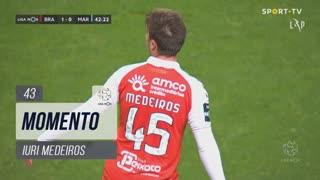 SC Braga, Jogada, Iuri Medeiros aos 43'