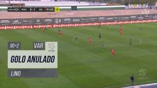 Gil Vicente FC, Golo Anulado, Lino aos 90'+2'