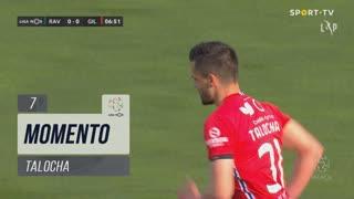 Gil Vicente FC, Jogada, Talocha aos 7'