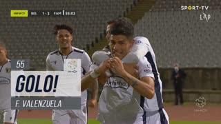 GOLO! FC Famalicão, F. Valenzuela aos 55', Belenenses SAD 1-2 FC Famalicão