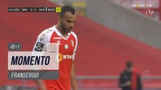SC Braga, Jogada, Fransérgio aos 45'+1'