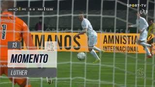 FC P.Ferreira, Jogada, Luther aos 13'