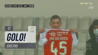 GOLO! SC Braga, Castro aos 17', Moreirense FC 0-2 SC Braga
