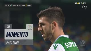 Sporting CP, Jogada, Paulinho aos 10'