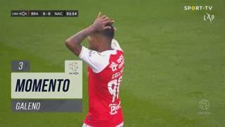 SC Braga, Jogada, Galeno aos 3'