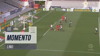 Gil Vicente FC, Jogada, Lino aos 60'