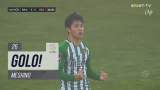 GOLO! Rio Ave FC, Meshino aos 26', Rio Ave FC 1-1 Santa Clara
