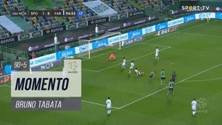 Sporting CP, Jogada, Bruno Tabata aos 90'+5'