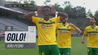 GOLO! FC P.Ferreira, João Pedro aos 26', SC Braga 0-1 FC P.Ferreira