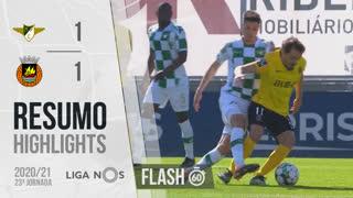 Liga NOS (23ªJ): Resumo Flash Moreirense FC 1-1 Rio Ave FC