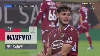 FC Famalicão, Jogada, Del Campo aos 31'