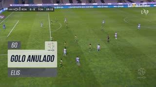 Boavista FC, Golo Anulado, Elis aos 60'