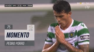Sporting CP, Jogada, Pedro Porro aos 75'