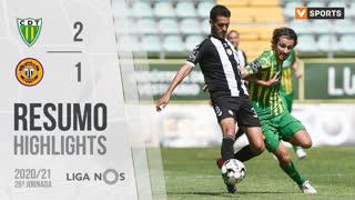 Liga NOS (28ªJ): Resumo CD Tondela 2-1 CD Nacional