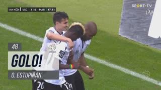 GOLO! Vitória SC, O. Estupiñán aos 48', Vitória SC 1-0 Marítimo M.