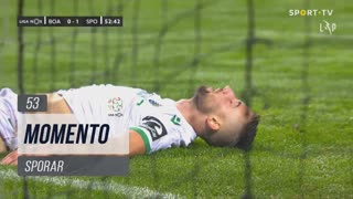 Sporting CP, Jogada, Sporar aos 53'