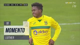 FC P.Ferreira, Jogada, Luther aos 18'