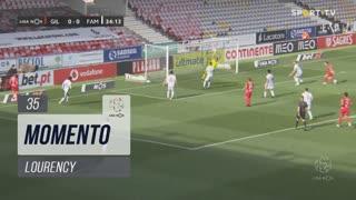 Gil Vicente FC, Jogada, Lourency aos 35'