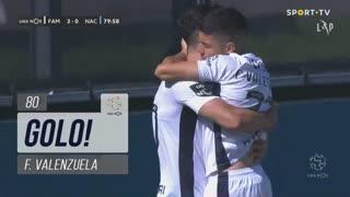 GOLO! FC Famalicão, F. Valenzuela aos 80', FC Famalicão 3-0 CD Nacional