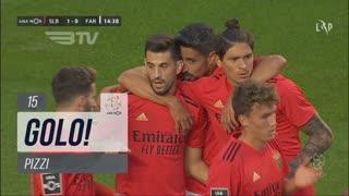 GOLO! SL Benfica, Pizzi aos 15', SL Benfica 1-0 SC Farense