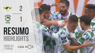 Liga NOS (5ªJ): Resumo Moreirense FC 2-1 Marítimo M.