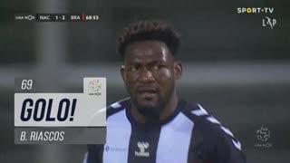 GOLO! CD Nacional, B. Riascos aos 69', CD Nacional 1-2 SC Braga