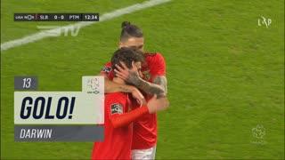 GOLO! SL Benfica, Darwin aos 13', SL Benfica 1-0 Portimonense