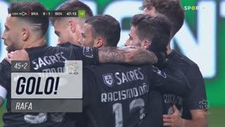 GOLO! SL Benfica, Rafa aos 45'+2', SC Braga 0-1 SL Benfica