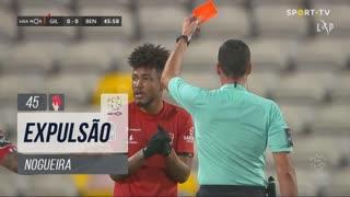 Gil Vicente FC, Expulsão, Nogueira aos 45'