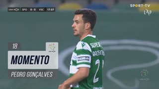 Sporting CP, Jogada, Pedro Gonçalves aos 18'