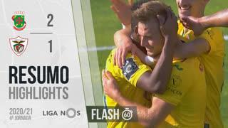 Liga NOS (4ªJ): Resumo Flash FC P.Ferreira 2-1 Santa Clara