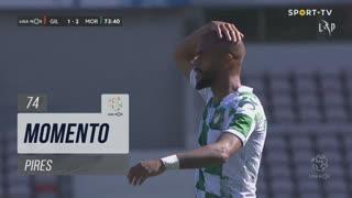 Moreirense FC, Jogada, Pires aos 74'
