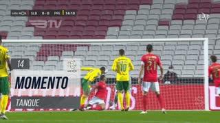 FC P.Ferreira, Jogada, Tanque aos 14'