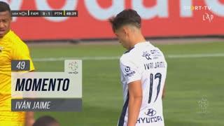 FC Famalicão, Jogada, Iván Jaime aos 49'