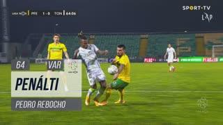 FC P.Ferreira, Penálti, Pedro Rebocho aos 64'