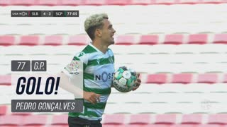 GOLO! Sporting CP, Pedro Gonçalves aos 77', SL Benfica 4-3 Sporting CP