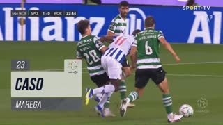 FC Porto, Caso, Marega aos 23'