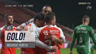GOLO! SC Braga, Ricardo Horta aos 43', SC Braga 1-0 Rio Ave FC